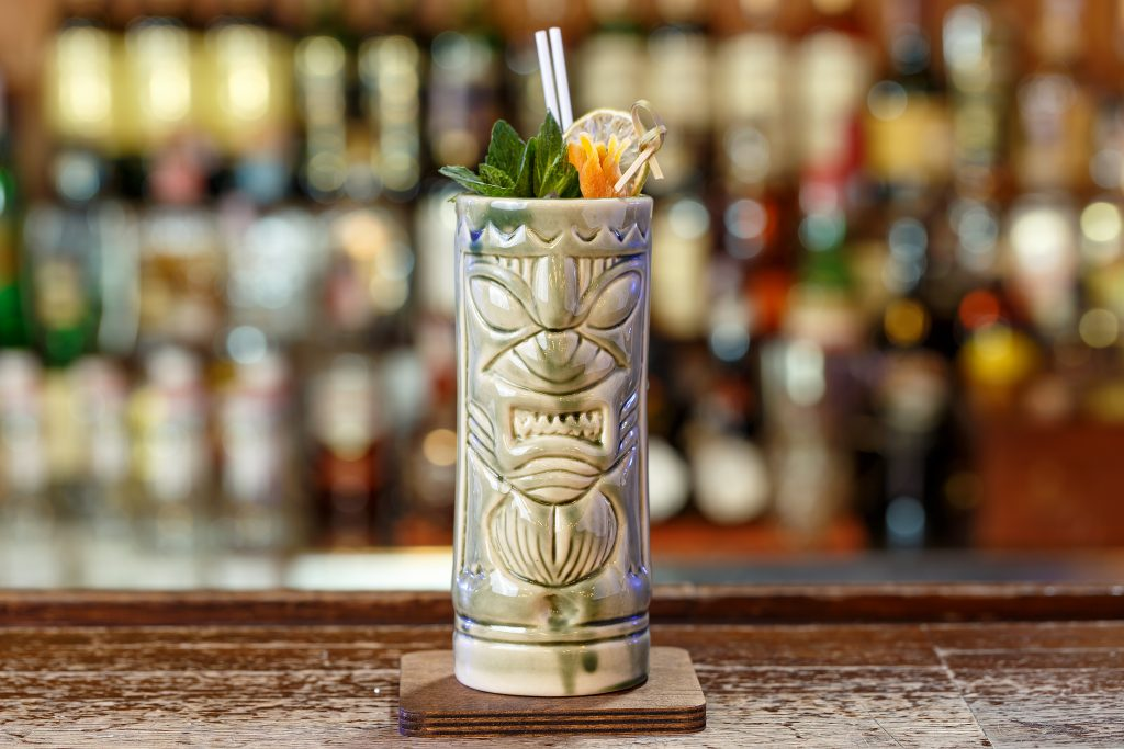 exotic zombie recipe made in a bar