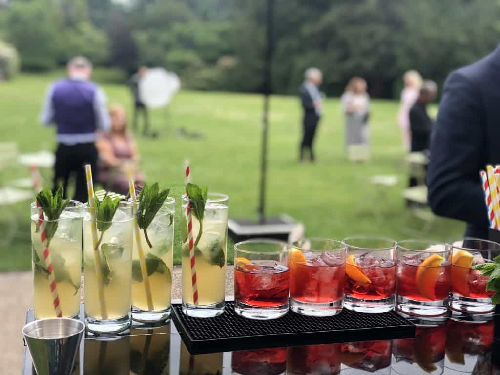 great looking cocktails ready to be served